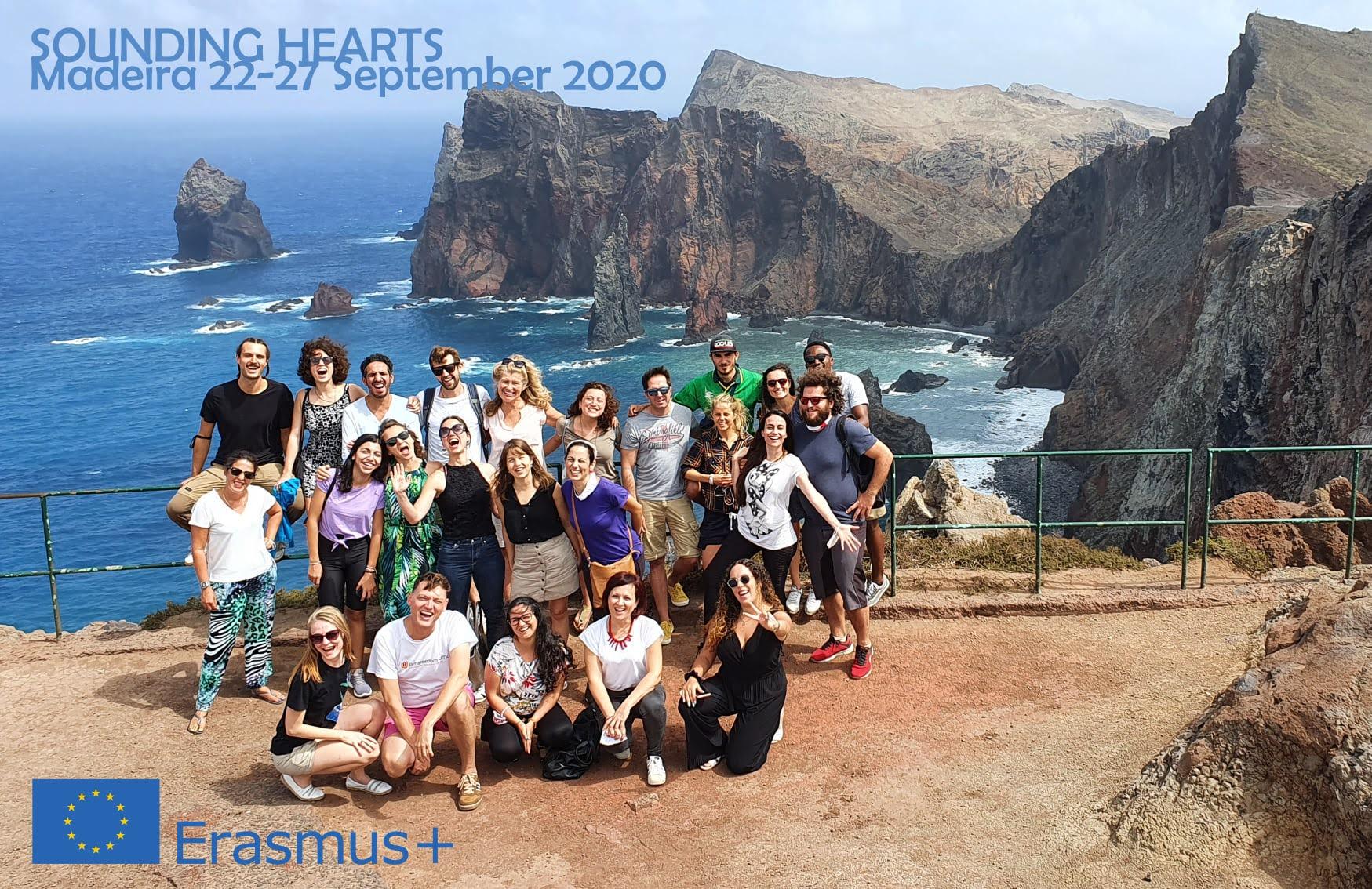 Groepsfoto ploeg van Madeira